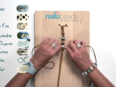 The Wave Nalu Beads Bracelet Video Tutorial.