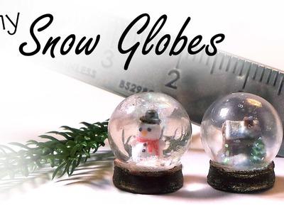 Tiny Snow Globes - Polymer Clay Tutorial