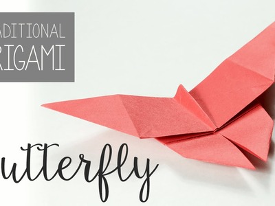 Traditional Origami Butterfly Tutorial