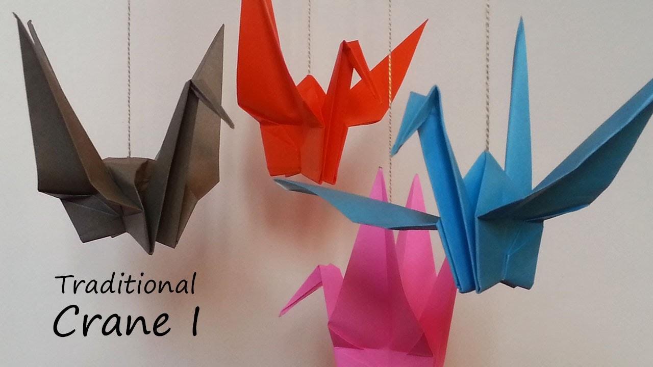Traditional Origami Crane I: Tutorial