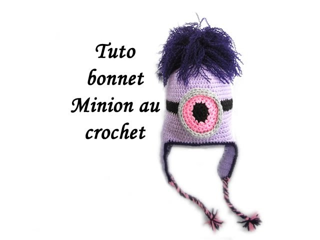 TUTO BONNET MINION AU CROCHET FACILE
