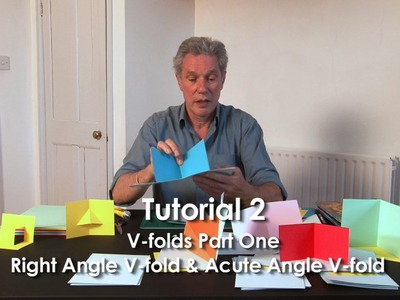 Tutorial 2 - V-folds Part 1 Right Angle V-fold & Acute Angle V-fold