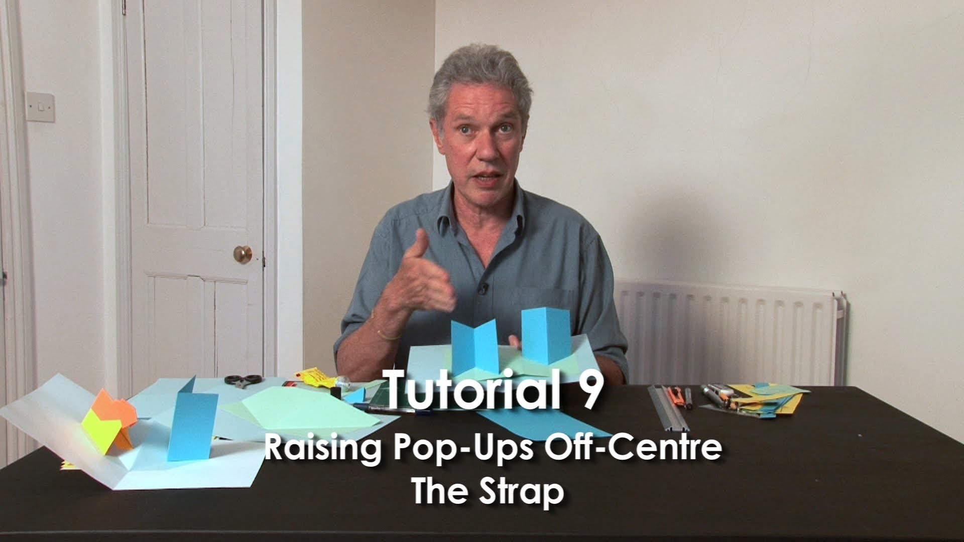 Tutorial 9 - Raising Pop-Ups Off-Centre.  The Strap