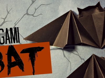 Very easy origami Bat (Tadashi Mori)