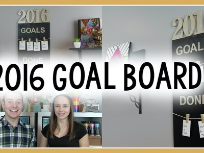 2016 GOAL BOARD | TUMBLR INSPIRED ROOM DECOR