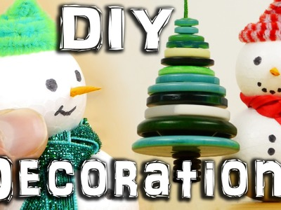 5 DIY Christmas Decorations
