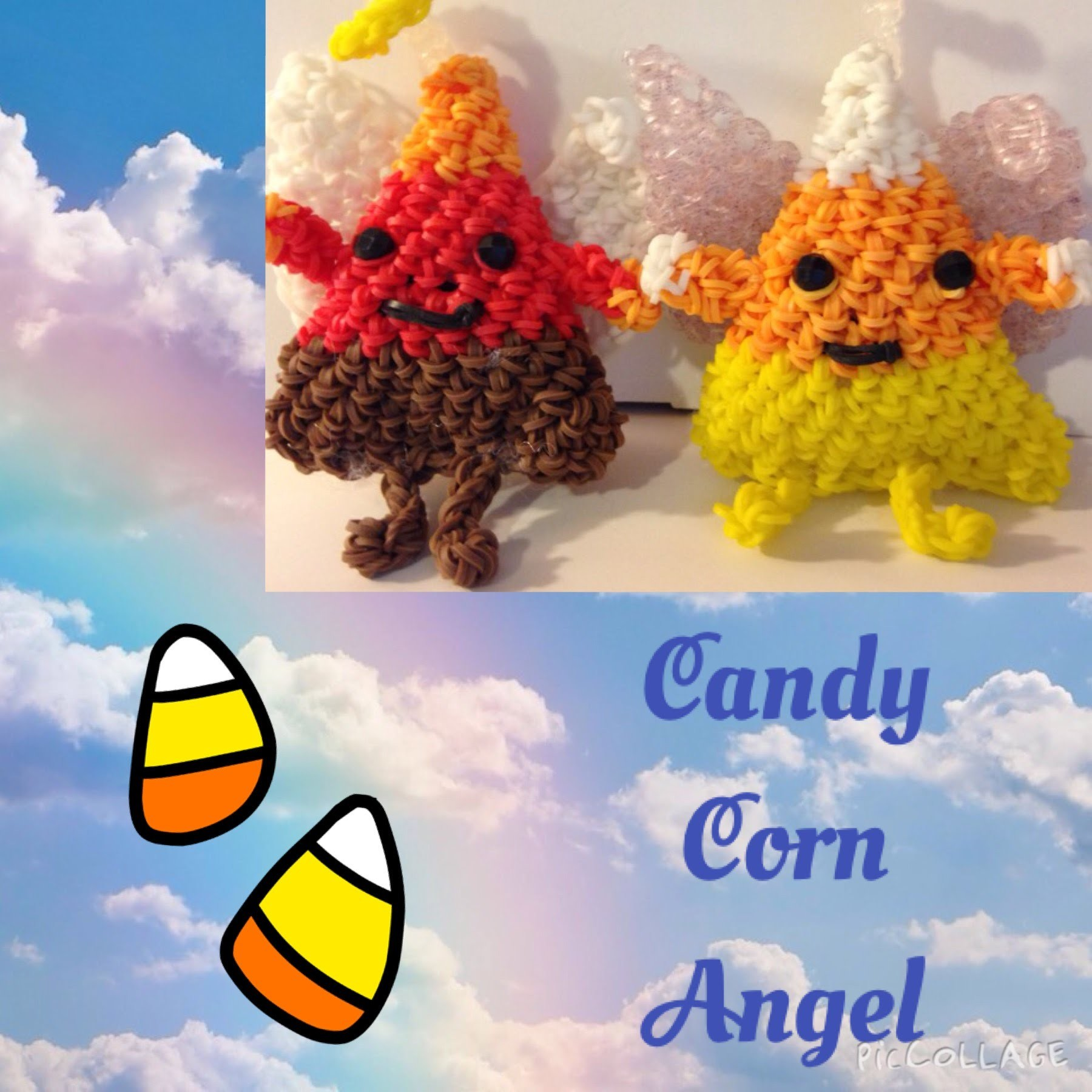 Angel Candy Corn