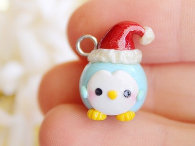 Christmas Penguin │ Polymer Clay Tutorial