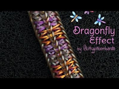 DRAGONFLY EFFECT Hook Only bracelet tutorial