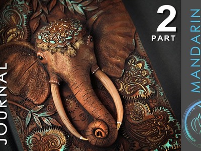 ELEPHANT JOURNAL TUTORIAL Part 2 - polymer clay by Mandarin Duck