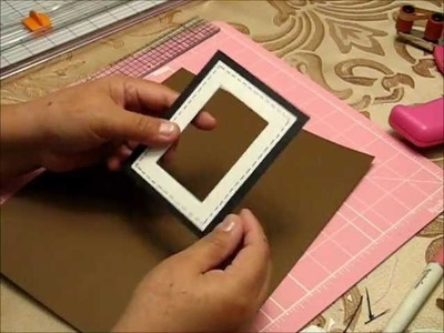 How to make an insert and a picture frame.
