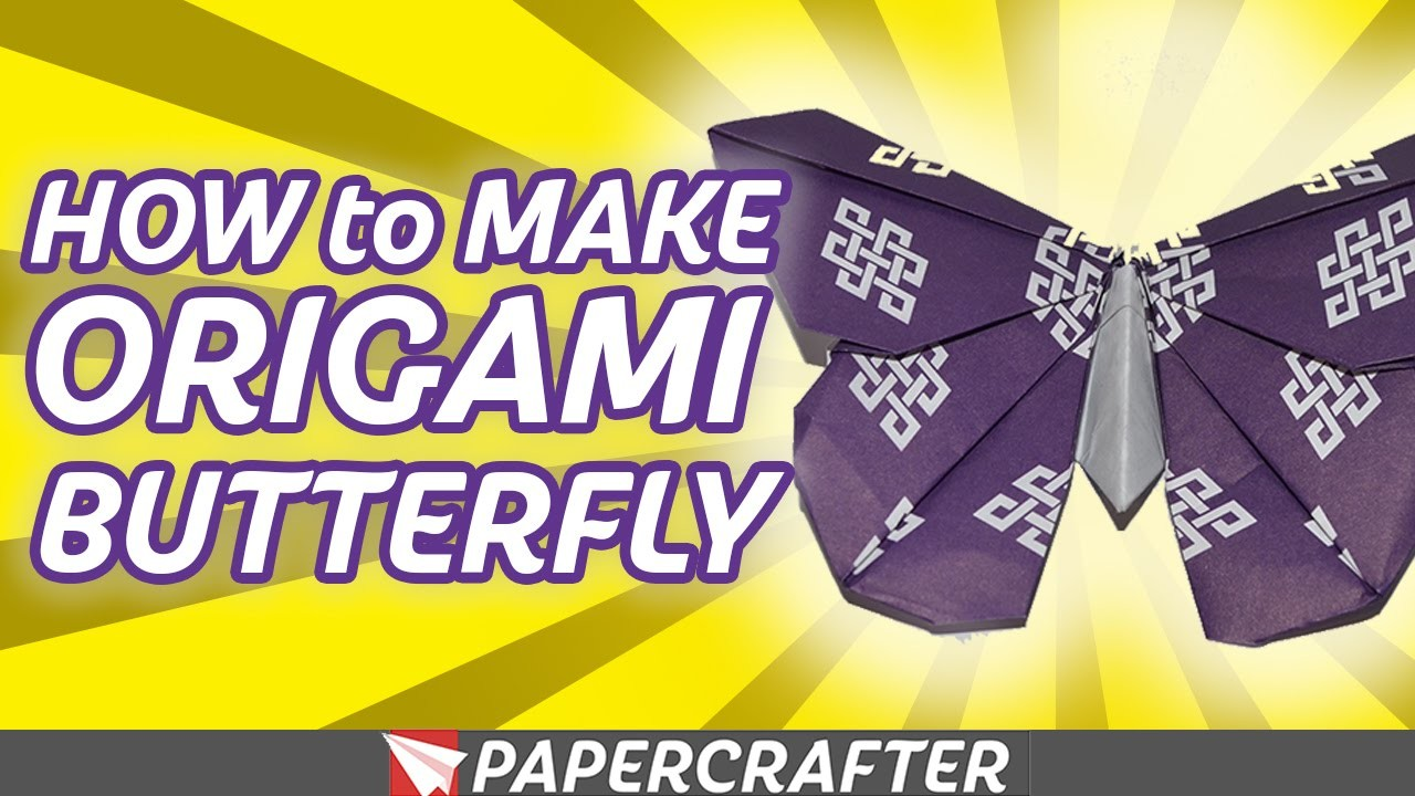 How to Make an Origami Butterfly | Skilled Origami