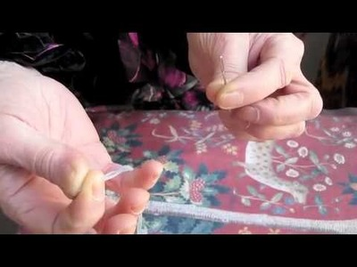 How to thread a needlepoint needle