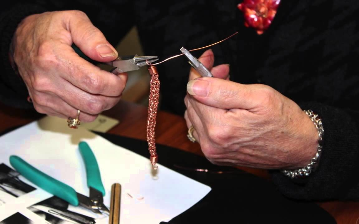 Jewelry making class--bracelet
