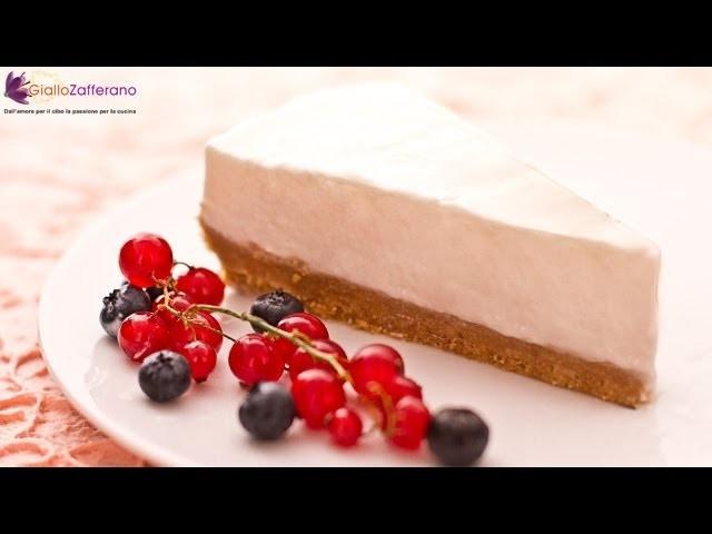 No-bake yogurt cheesecake - quick recipe