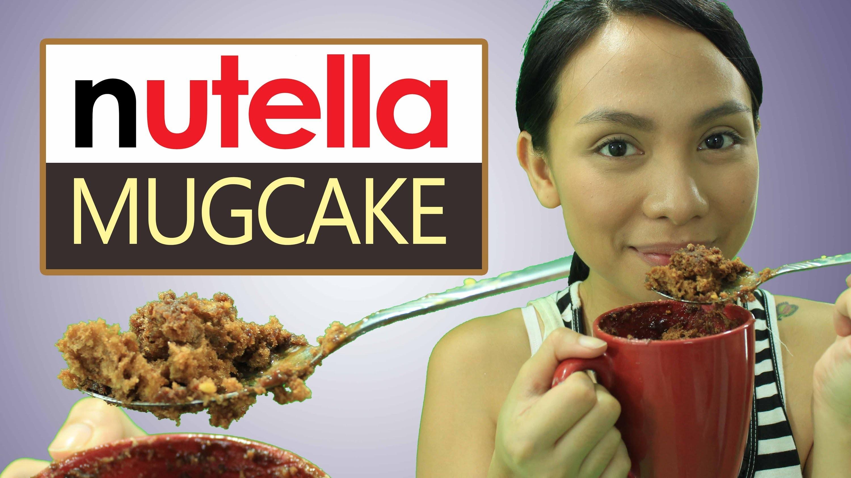 Panlasang Sabog: Nutella Mug Cake
