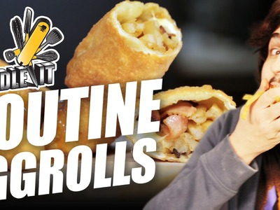 Poutine Egg Rolls - Handle It
