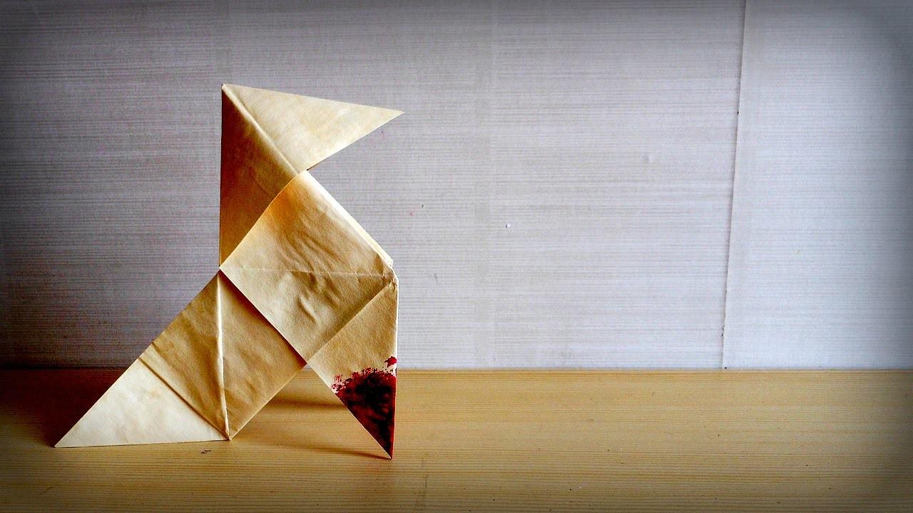 Soaches Builds! - Origami Bird from Heavy Rain!