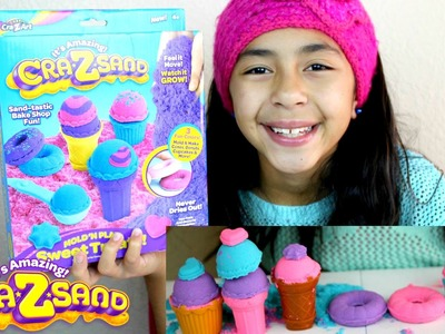 CraZsand Mold N Play Sweet Treats ITS AMAZING REVIEW | B2cutecupcakes
