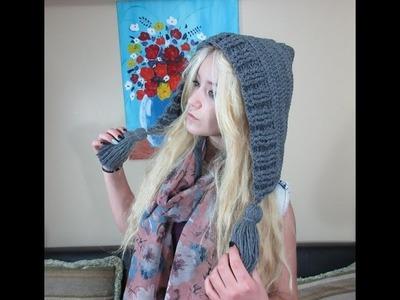 Crochet hoodie. With Ruby Stedman
