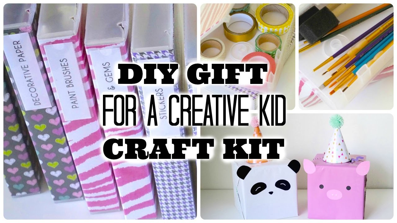 DIY Gift for a Creative Kid | Recycled VHS Cases to Craft Kits