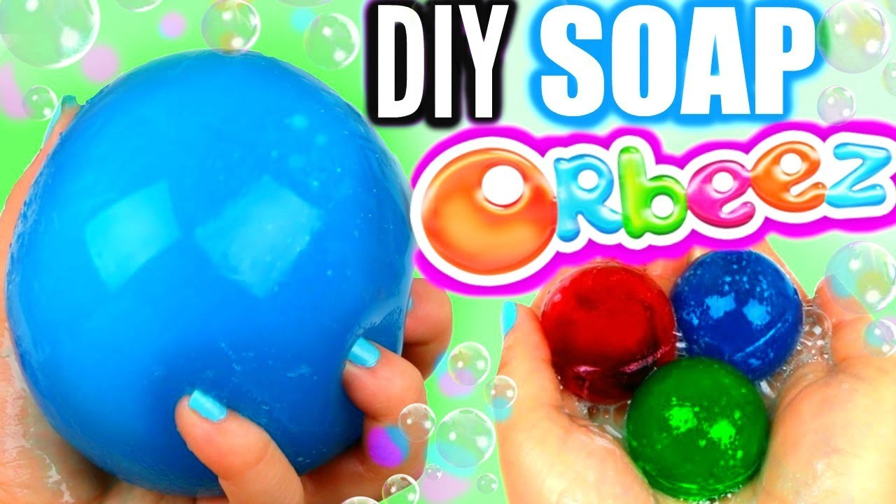 DIY Orbeez Soap! Make Giant Orbeez Soap!