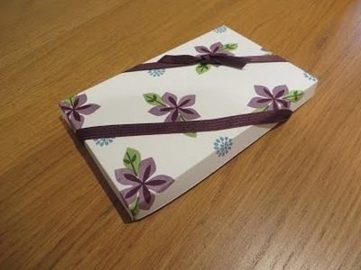 Hidden Compartment Gift Box Tutorial using Flower Patch by Stampin' Up