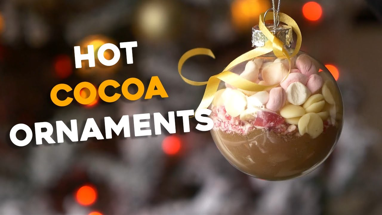 Hot Cocoa Ornaments | Awesome Last Minute DIY Christmas Gift!