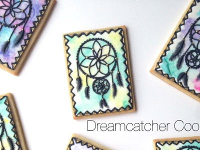 How To Decorate Dreamcatcher Cookies!