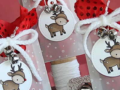 How to make a Christmas goodie bag