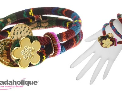 How to Make a Cotton Cord Bracelet by Fernando DaSilva