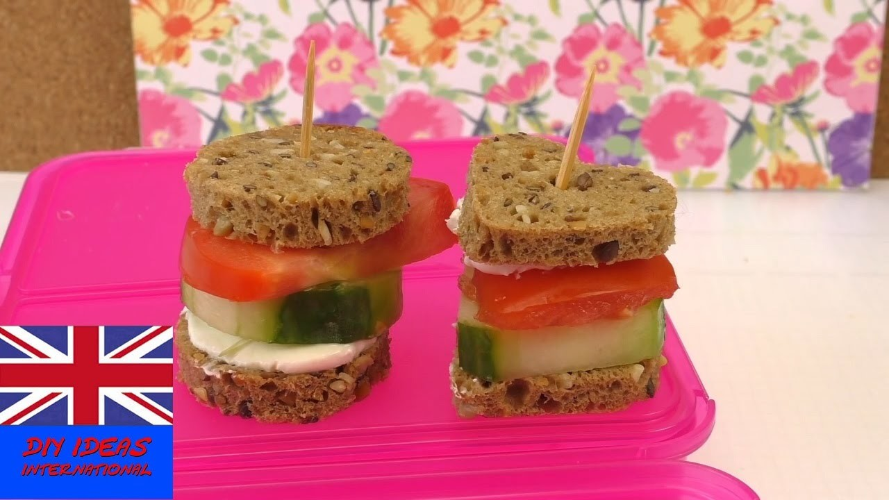 How to make healthy finger sandwiches -sandwiches recipe - mini sandwiches  & vegetable sandwich