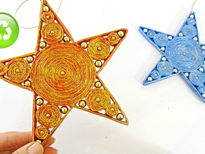 How to make paper stars. Estrellas de papel.