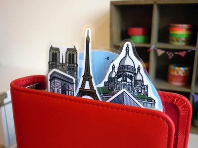 Printable DIY Paris Dividers for Filofax Organiser