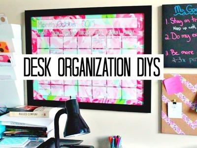 School Desk Organization DIYs - Wall Calendar; Weekly Schedule, etc | Laurie Martel