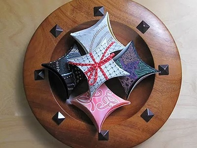 Zentangle® Inspired Mandala Gift Boxes