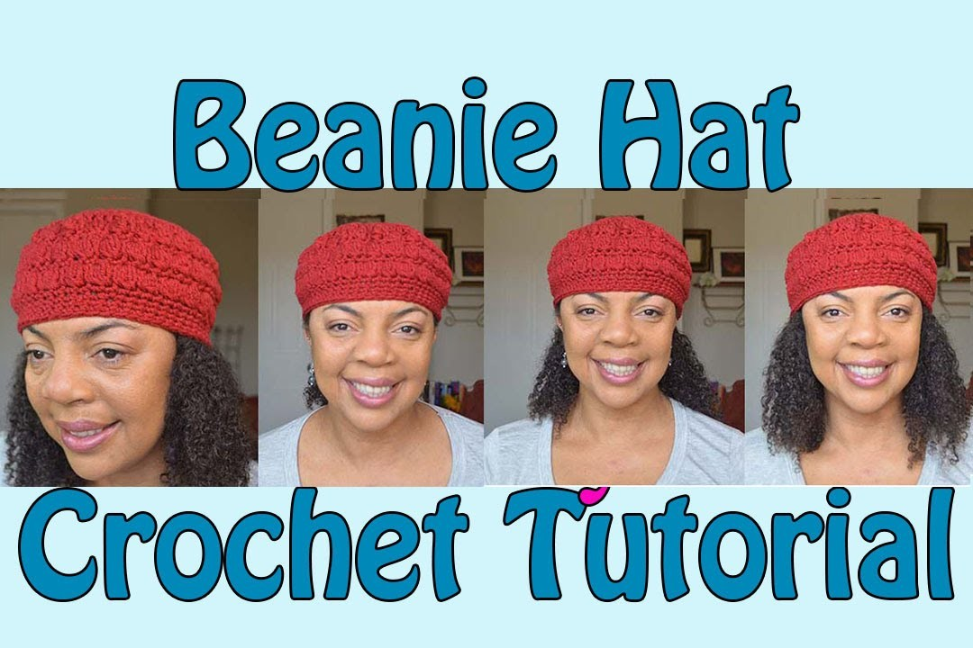 Beanie Hat Crochet Tutorial