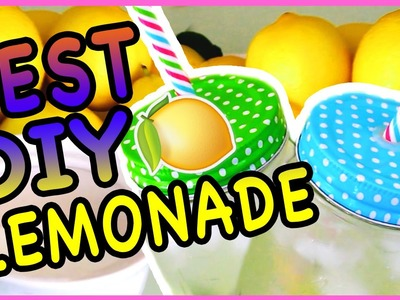 Best DIY Lemonade Recipe!