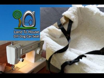 Diy Dog Car Seat - Land To House