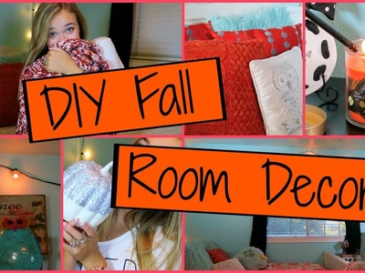 DIY Fall Room Decor! How to Spice Up Your Room For Fall!