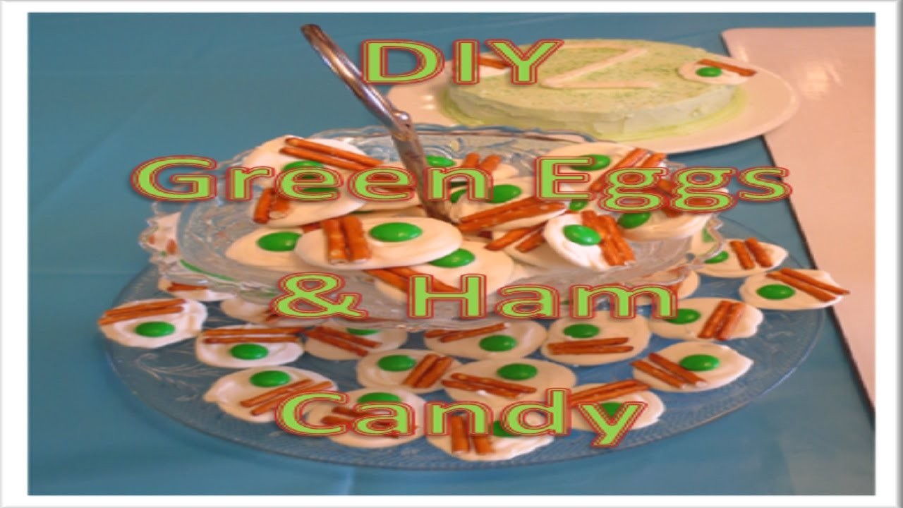 DIY Green Eggs & Ham Candy (Pinterest)