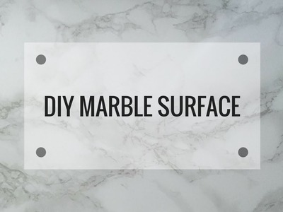 DIY Marble Surface for Photos | eylinsupreme