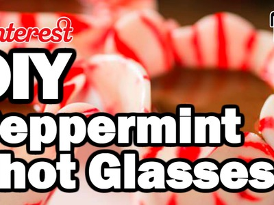 DIY Peppermint Shot Glasses - Man Vs Corinne Vs Pin - Pinterest Test #76