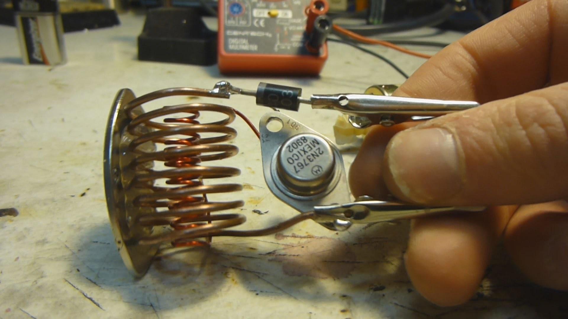 Самодельный генератор из магнита