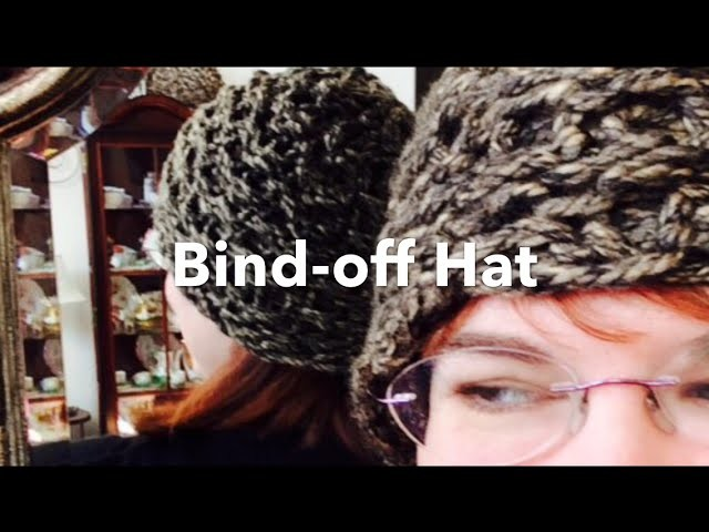 Hat Bind Off on Zippy