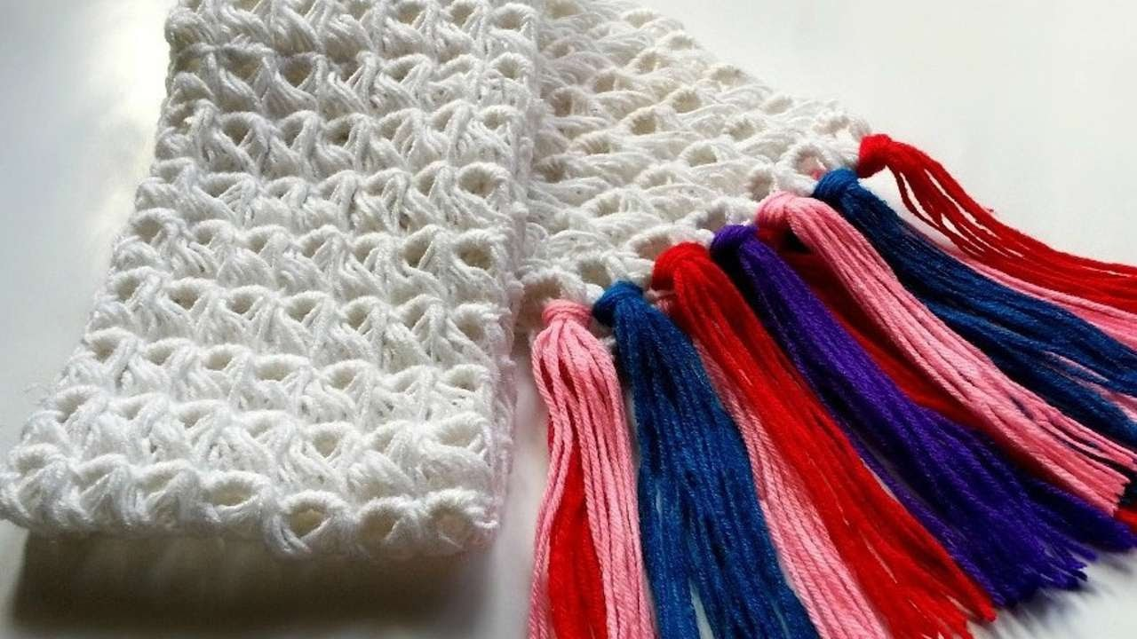 How To Create A Broomstick Crochet Scarf - DIY Style Tutorial - Guidecentral