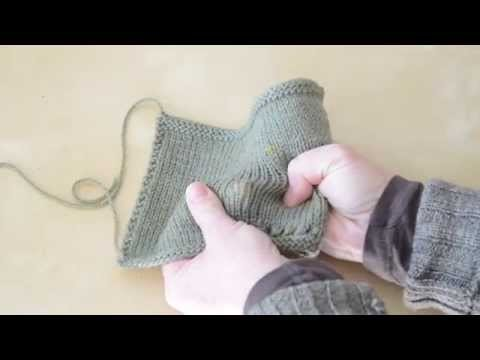 Is your hand-knit fabric ready for a sweater?