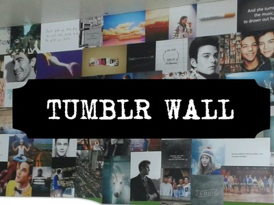 My DIY | Tumblr Wall