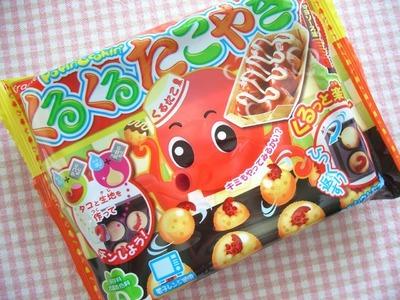 "DIY ""Candy"" - Kuru Kuru Takoyaki"