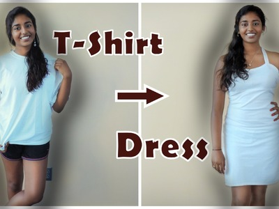 DIY: How to Re-Vamp your T-Shirt to a Dress